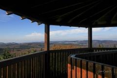 Aussicht vom Ziegenhellen-Turm auf Neuastenberg und Langewiese