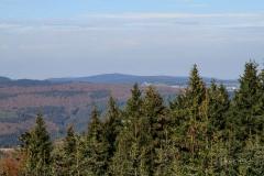 Aussicht vom Ziegenhellen-Turm auf Winterberg
