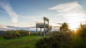 Sauerland stabil - Stuhl mit Aussichtsplattform am Höhenflug